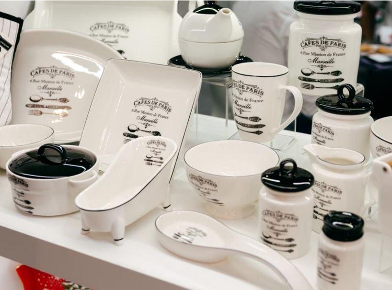Керамическая посуда Кафе де Пари оптом