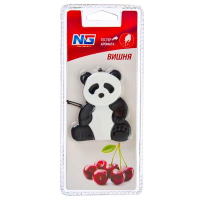 NEW GALAXY Ароматизатор гелевая игрушка Панда, вишня Дизайн GC